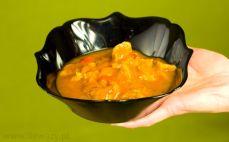 Porcja gulaszu bezmięsnego