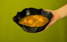 Porcja gulaszu wieprzowo-wołowego