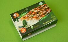 Gyros wieprzowy z warzywami i ryżem