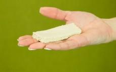 Plaster chałwy o smaku waniliowym bez cukru