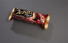 Ciastka jeżyki dark cherry