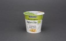 Jogurt bio brzoskwiniowy z kaszą jaglaną