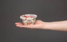 Porcja jogurtu Vita-minki, jogurt marchewkowo-brzoskwiniowy