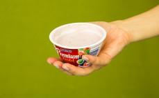 Porcja jogurtu z owocami leśnymi Premium Gold