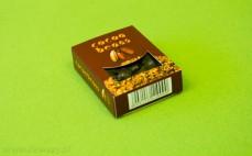 Ziarna kakao w czekoladzie deserowej