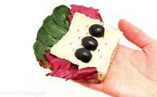 Kanapka z serem pleśniowym