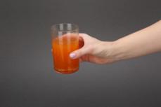 Porcja kisielu o smaku marchwi i pomarańczy Owocowy Kubek Kids