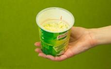 Porcja makaronu z sosem serowo-śmietanowym Gorący Kubek