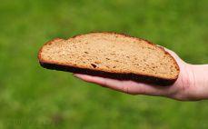 Kromka chleba litewskiego