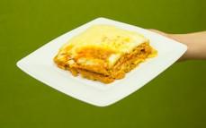 Porcja Lasagna Bolognese