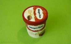 Lody Haagen-Dazs Vanilla Caramel Brownie