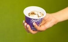 Porcja lodów Chocolate Vanilla Milka
