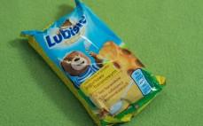 Ciastko biszkoptowe o smaku jogurtowo-bananowym Lubisie