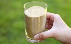 Szklanka mąki z nasion amarantusa