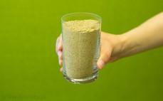 Szklanka mąki z żołędzi