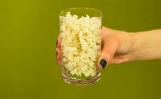 Szklanka makaronu z amarantusem świderki