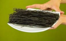 Spaghetti z czarnej soi