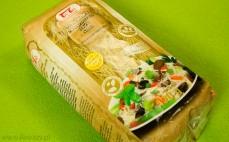 Makaron z brązowego ryżu nitki