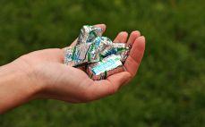 Pięć cukierków