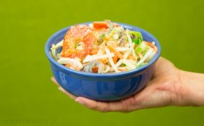 Porcja mrożonej mieszanki chińskiej
