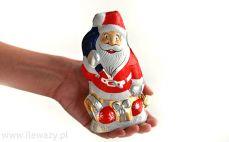 Mikołaj z czekolady mlecznej