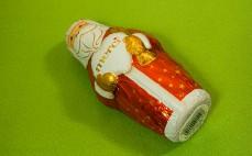 Mikołaj z czekolady pełnomlecznej
