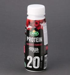 Mleczny napój o smaku malinowo-truskawkowym Protein Milk Shake