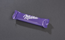 Milka Crunchy Break, ciastka z nadzieniem orzechowym