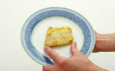 Pieczony filet z mintaja