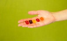 5 sztuk żelków z sokami owocowymi Miśki