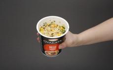 Porcja zupy błyskawicznej Miso Ramen