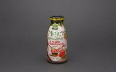 Mleko kokosowe o smaku truskawkowym