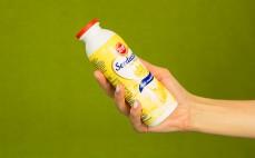 Porcja napoju mlecznego o smak waniliowym Serduszko