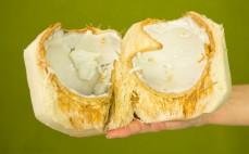 Miąższ młodego kokosa