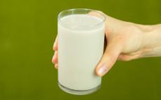 Szklanka naturalnego napoju gryczanego