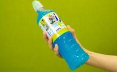Butelka napoju izotonicznego iso plus o smaku tropic blue