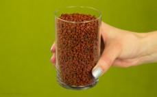 Szklanka nasion annato
