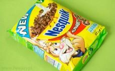Płatki zbożowe o smaku czekoladowym Nesquik Alphabet