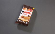 Nutella B-ready, pszenny wafelek z kremem do smarowania z orzechami laskowymi i kakao