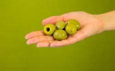 5 sztuk zielonych oliwek królewskich