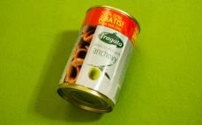 Oliwki zielone nadziewane anchois