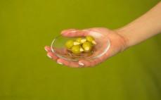 5 oliwek zielonych z migdałem