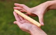 Pałeczki kukurydziane z otrębami