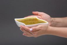 Porcja zupy Pani Szczawiowa z ziemniakiem