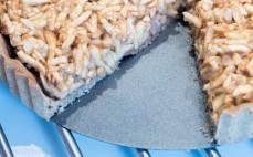 Pełnoziarnista szarlotka z mąką teff