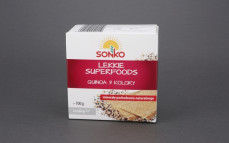 Chleb chrupki lekki superfoods z quinoą 3 kolory