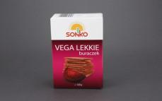Pieczywo chrupkie Vega lekkie z czerwonym burakiem