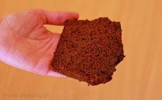 Kawałek piernika czekoladowego