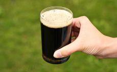 Szklanka piwa Guinness