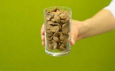 Szklanka płatków Chocapic o smaku choco - orzechowym
